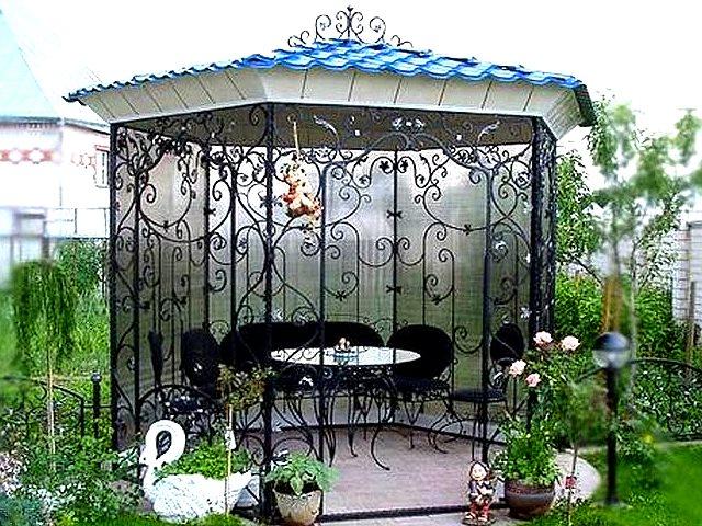 Выбираем кованый декор для сада с компанией Master Company